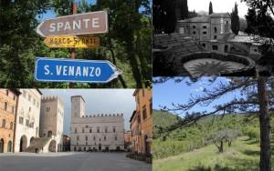 Direzione S.Venanzo - La Scarzuola - Todi - Le Pinete